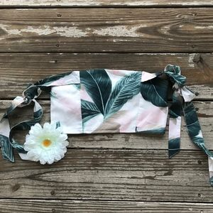 Missguided Topical Crop Top NWT
